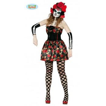 Disf.Esqueleto Catrina T-L