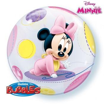 Globo Burbuja Minnie Baby
