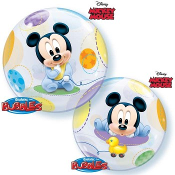 Globo Burbuja Mickey Baby