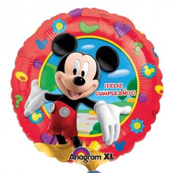 """Globo 18""""Mickey Feliz Cumpleañ"""