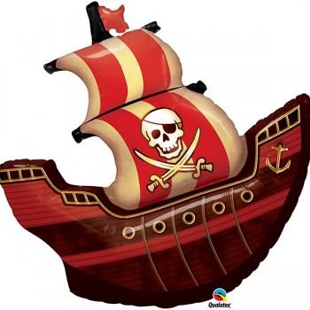 Globo Barco Pirata 102Cm