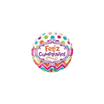 Globo Feliz Cumpleaños Topos