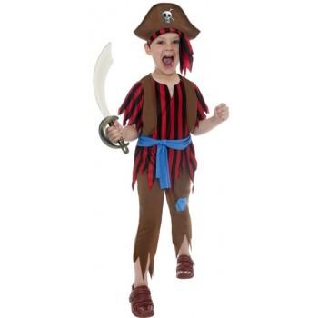 Disf.Inf.Pirata Niño T-S