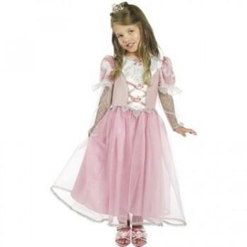 Disf.Inf.Princesa Rosa 3-4Años