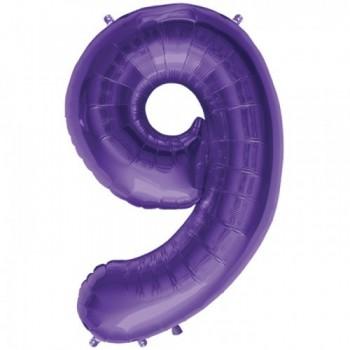 """Globo Nº9 Violeta 34"""""""