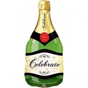 Globo Forma Botella Champan 39