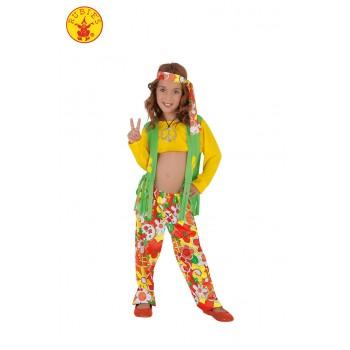 Disf.Inf.Niña Hippie T-S