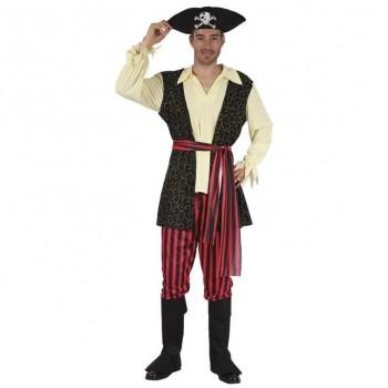 Disf.Pirata Arabescos Oro