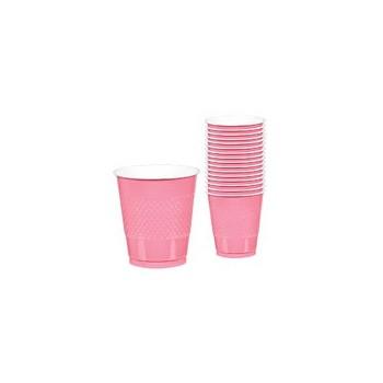 P/10 Vasos Rosa Pastel 355Ml
