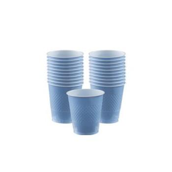 P/10 Vaso 355Ml Azul Pastel
