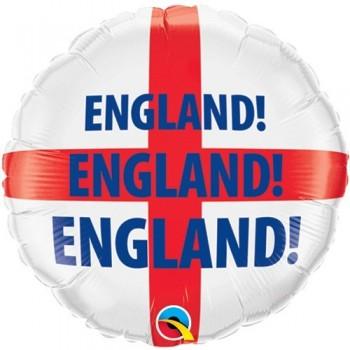 "Globo 18"" Bandera England!"