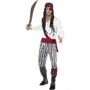 Disf. Pirata Adulto T-M