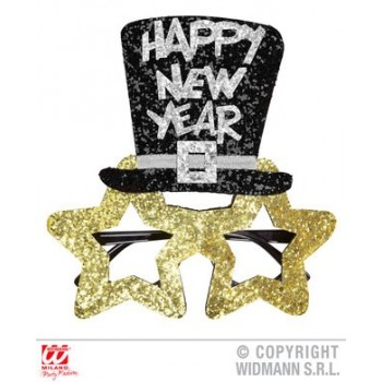 Gafas Oro C/Somb.H.New Year