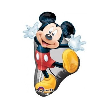 Globo Forma Mickey 78Cm Manos