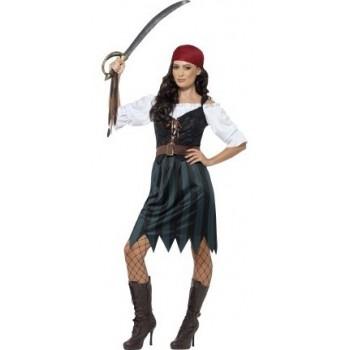Disf.Chica Pirata T-Xl