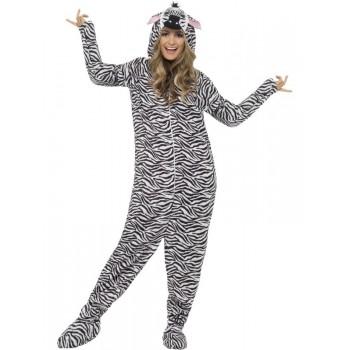 Disf.Adulto Zebra  T-M