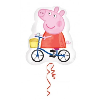 Globo Peppa Pig Bicicleta