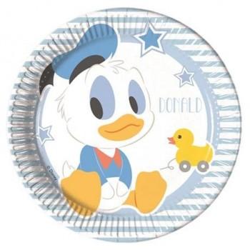 P/8 Plato 20Cm Mickey Baby