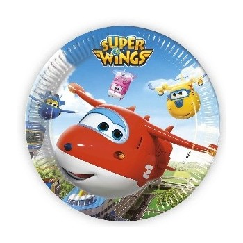 P/8 Plato 23Cm Super Wings