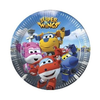 P/8 Plato 20Cm Super Wings