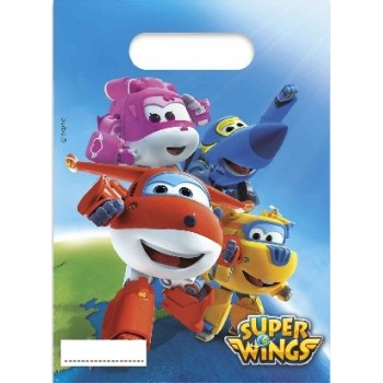 P/6 Bolsa C/Asa Super Wings