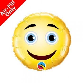 Globo Palo Emoticono Sonrisa