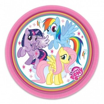 P/8 Plato 18Cm My Little Pony