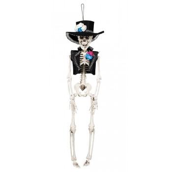 Colg.Esqueleto El Flaco 40Cm