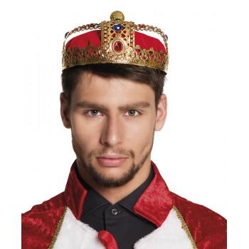 Corona Real Rey Dlx Roja/Oro
