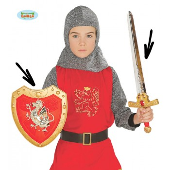 Escudo Inf.C/Espada Caballero