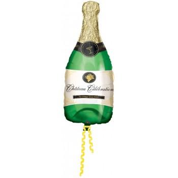 Globo Botella Champan 91Cm Ver