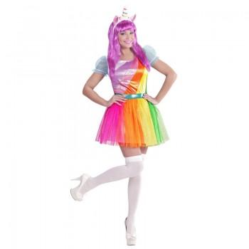 Disf.Chica Unicornio T-M