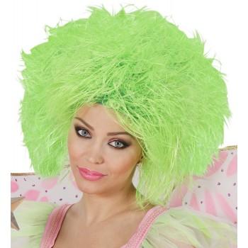 Peluca Fairy Verde Fluoresc.
