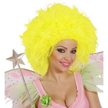 Peluca Fairy Amarilla Fluor