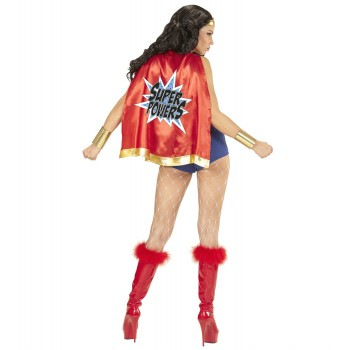 Disf.Super Power Girl T-S