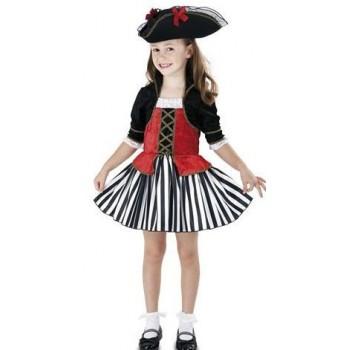 Disf.Inf.Niña Pirata Anne 7-9A
