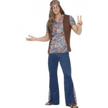 Disf.Chico Hippie T-Xl
