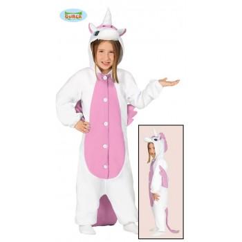 Disf.Pijama Unicornio Rosa T-S
