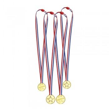 P/4 Medallas C/Cinta