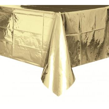 Mantel Plast.Oro 137X274cm