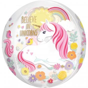 Globo Orbz Magical Unicornio