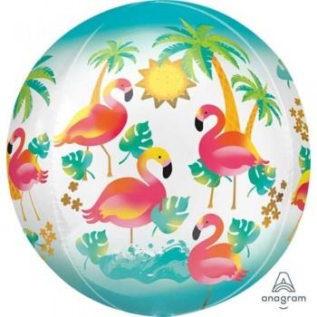 Globo Orbz Flamingo Tropical