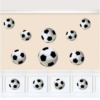 P/12 Siluetas Balon Futbol