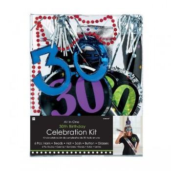 Kit Fiesta 30 Cumpleaños