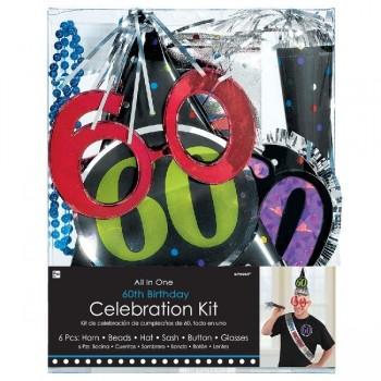 Kit Fiesta 60 Cumpleaños