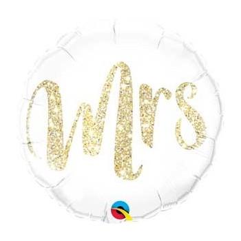 """Globo 18""""Mrs Glitter Oro"""