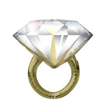Globo Anillo Diamante 94Cm