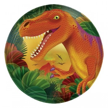 P/8 Plato 17.7Cm Dinosaurios