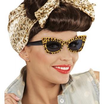 Gafas Loepardo Rockabilly