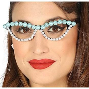 Gafas Años 50 C/Perlas
